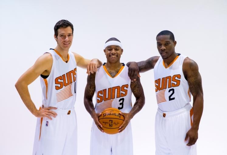 Los tres soles de los Suns