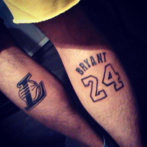 Tatuaje del fanático Alberto Pereiro