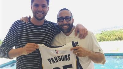 Parsons y su nuevo coach