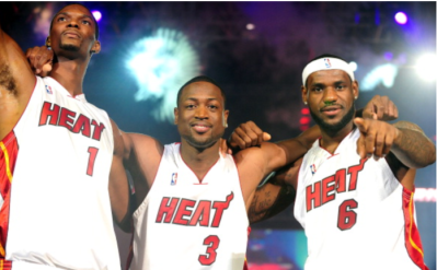 El big three del Miami Heat